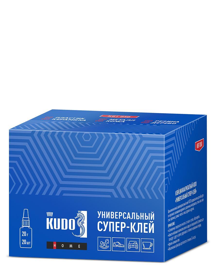 Клей цианоакрилатный Универсальный Супер‑клей KUDO KBT-050