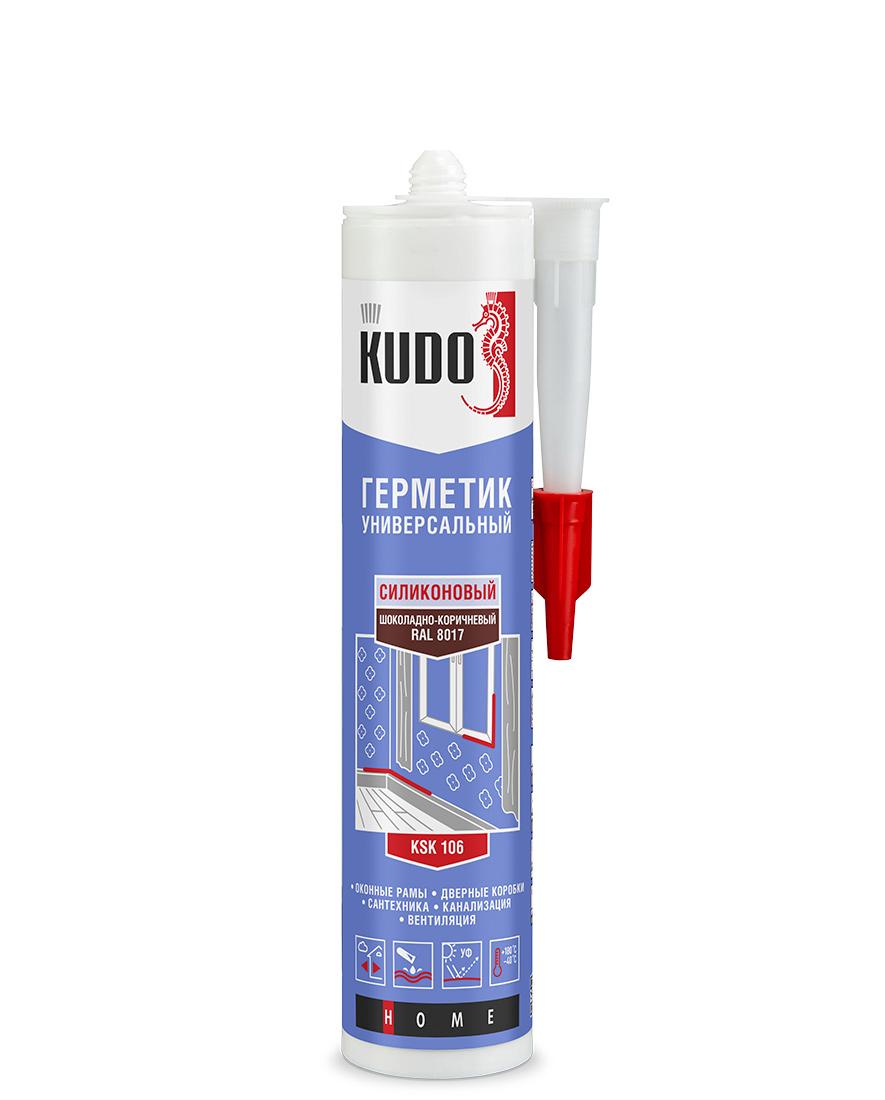 Герметик силиконовый универсальный KUDO KSK-106
