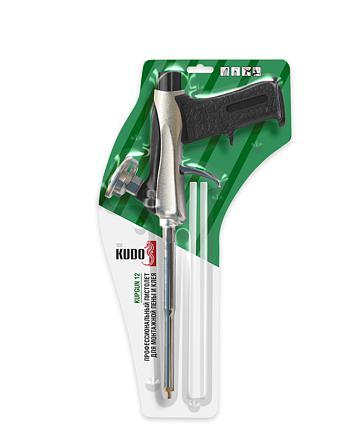 Профессиональный пистолет для монтажной пены и клея KUDO STRONG BALANCE KUPGUN12