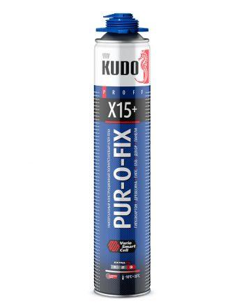 Клей-пена конструкционный профессиональный PUR-O-FIX X15+ EXTRA FIX KUPP10B15SU