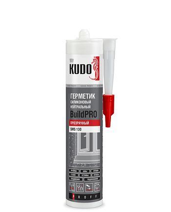 Герметик силиконовый нейтральный KUDO PROFF BUILDPRO SMS-130