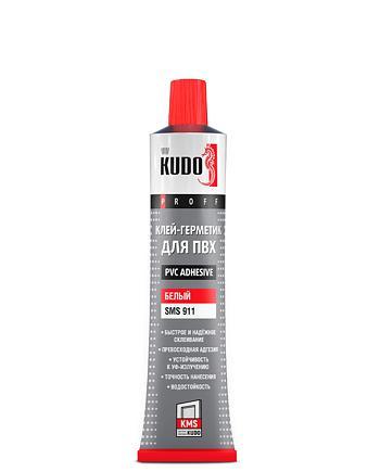 Клей-герметик для ПВХ жидкий пластик KUDO SMS-911